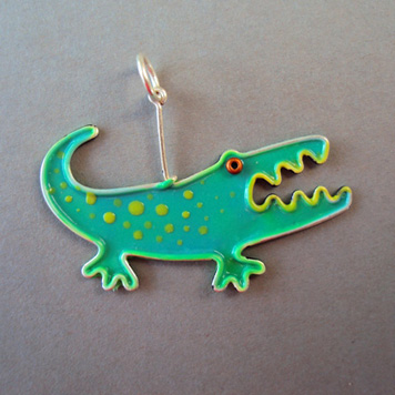 Zawieszka Krokodyl