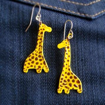 Kolczyki Żyrafy