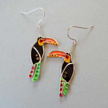 Kolczyki Tukany