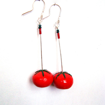 Kolczyki Pomidorki