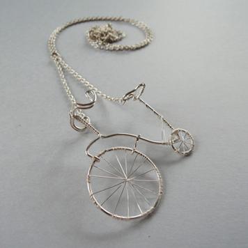 Naszyjnik Bicykl