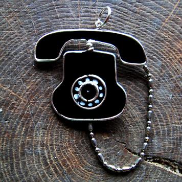 Wisiorek Telefon