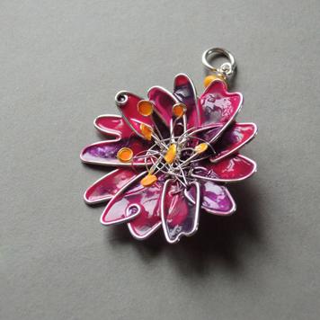 Zawieszka Kwiat z Pręcikami