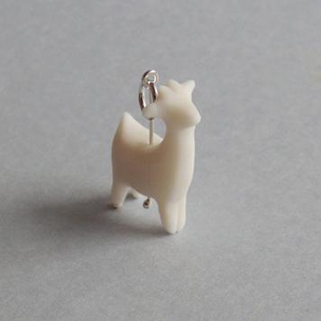 Wisiorek Porcelanowa Koza