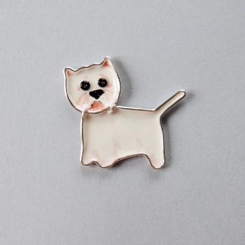 Broszka West Highland White Terrier