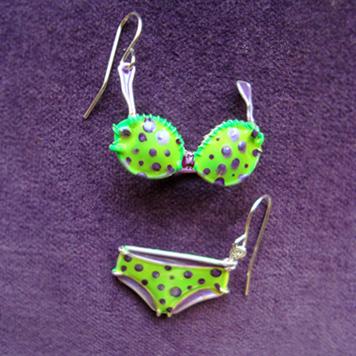 Kolczyki Bikini