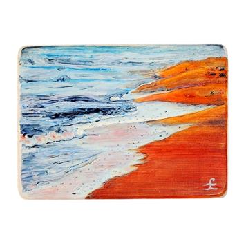 12 Drewniany Obrazek Pocztówka - Plaża