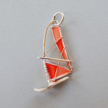 Zawieszka Windsurfing Łososiowy
