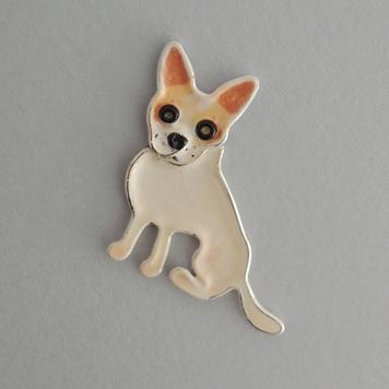 Broszka Chihuahua