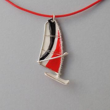 Zawieszka Windsurfing Red Black