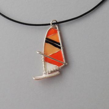 Zawieszka Windsurfing Black Orange