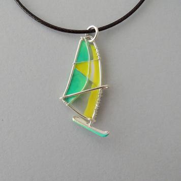 Zawieszka Windsurfing Lime Bow