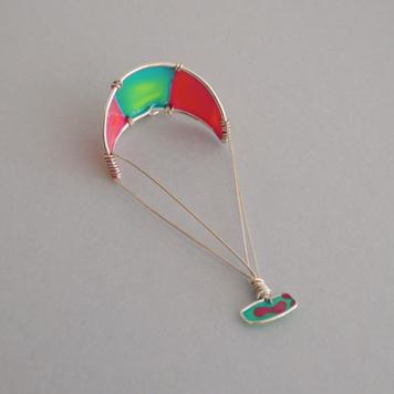 Zawieszka Kitesurfing Turquoise Rose