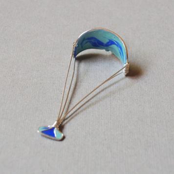 Zawieszka Kitesurfing Kobaltowy