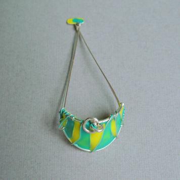 Zawieszka Kitesurfing Lime Triangles